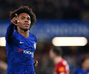 Arsenal, Chelsea, and willian image