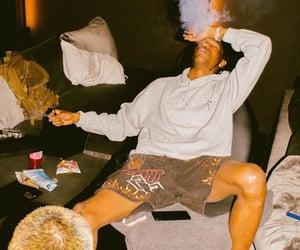 smoke, travis scott, and tattoo image