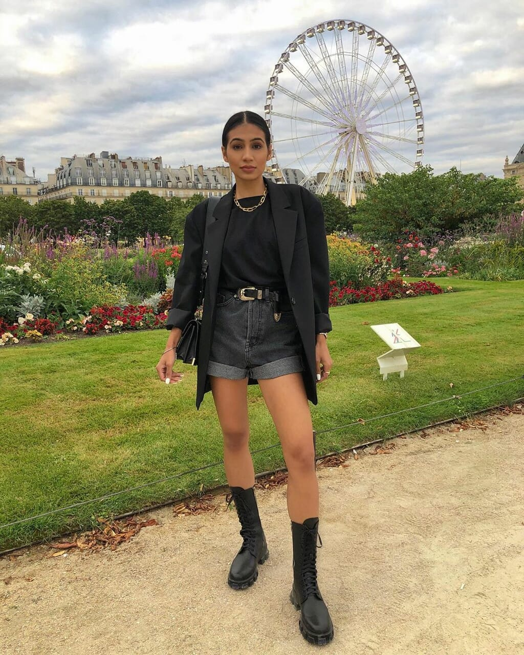blogger, outfit, and the kooples image