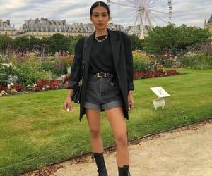 blogger, street style, and black blazer image