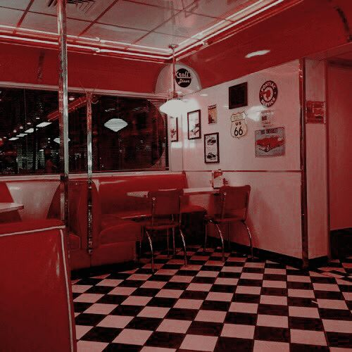 50s, article, and diner image