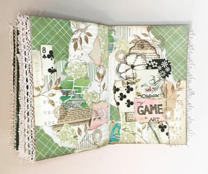 artwork, Collage, and journal image