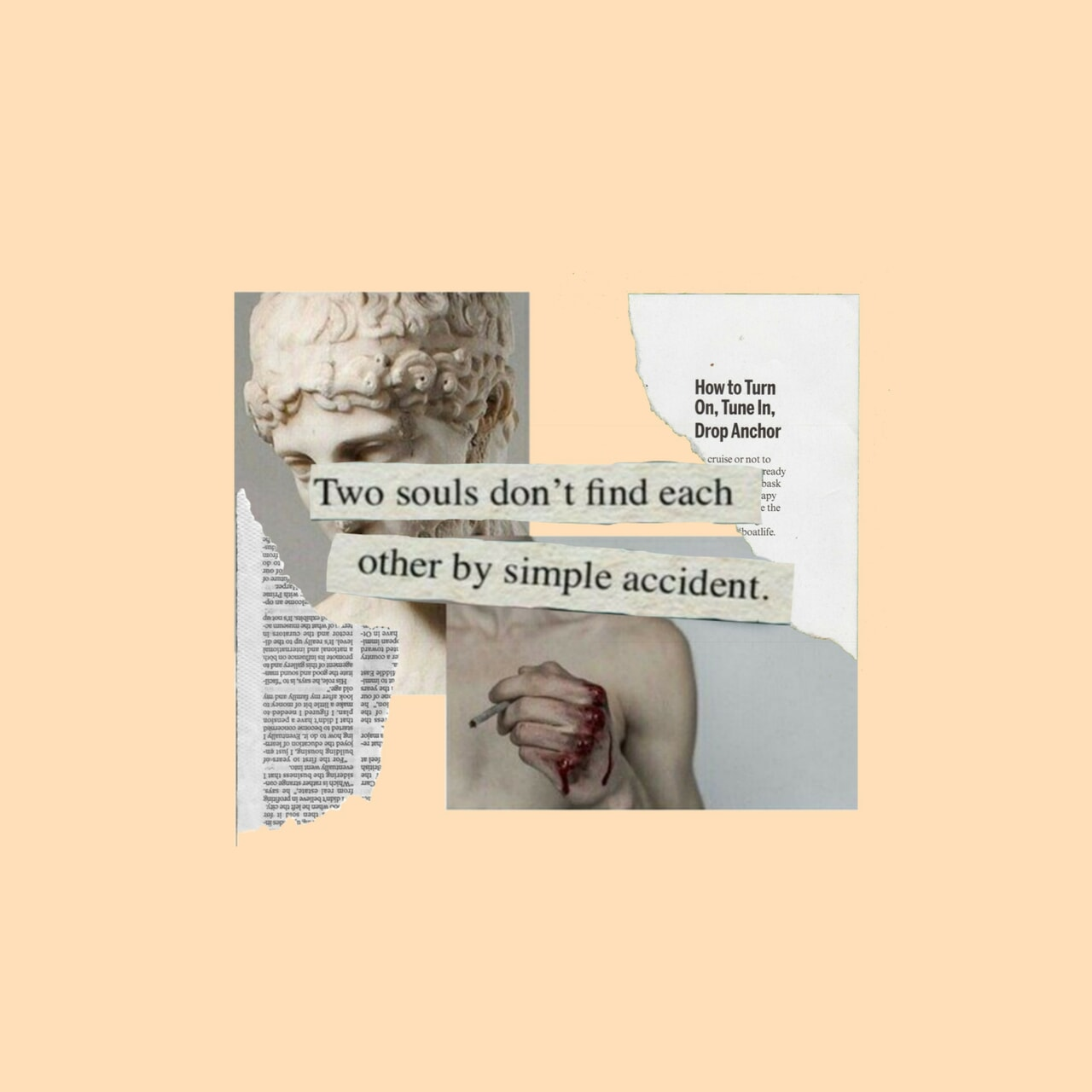 accident, aesthetic, and feelings image