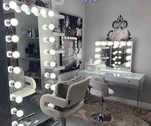 glam, lux, and mirror image