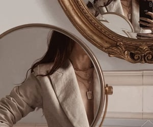 girl, mirror, and aesthetic image