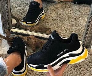 Balenciaga, black, and shoes image