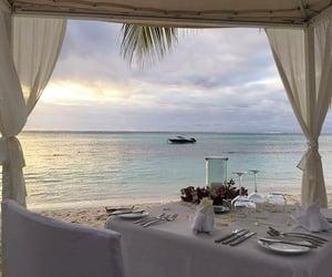 beach, aesthetic, and luxury image