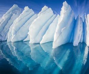 belleza, iceberg, and invierno image
