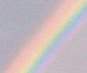 aesthetic, background, and rainbow image