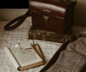 book, dark academia, and vintage image