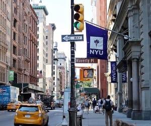 college, new york city, and studies image