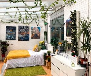 decor, greenery, and home decor image