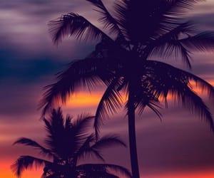 небо, закат, and красиво image