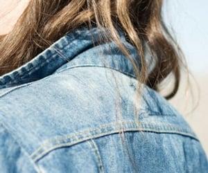 girl, hair, and jacket image
