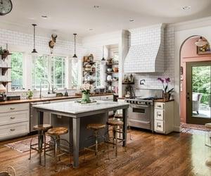 kitchen, minimalistic, and white image