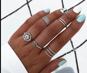 celeste, accesorios, and anillos image