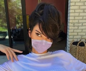 kendall jenner, wear a mask, and girls icons image