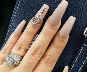 manos, nails, and uñas image
