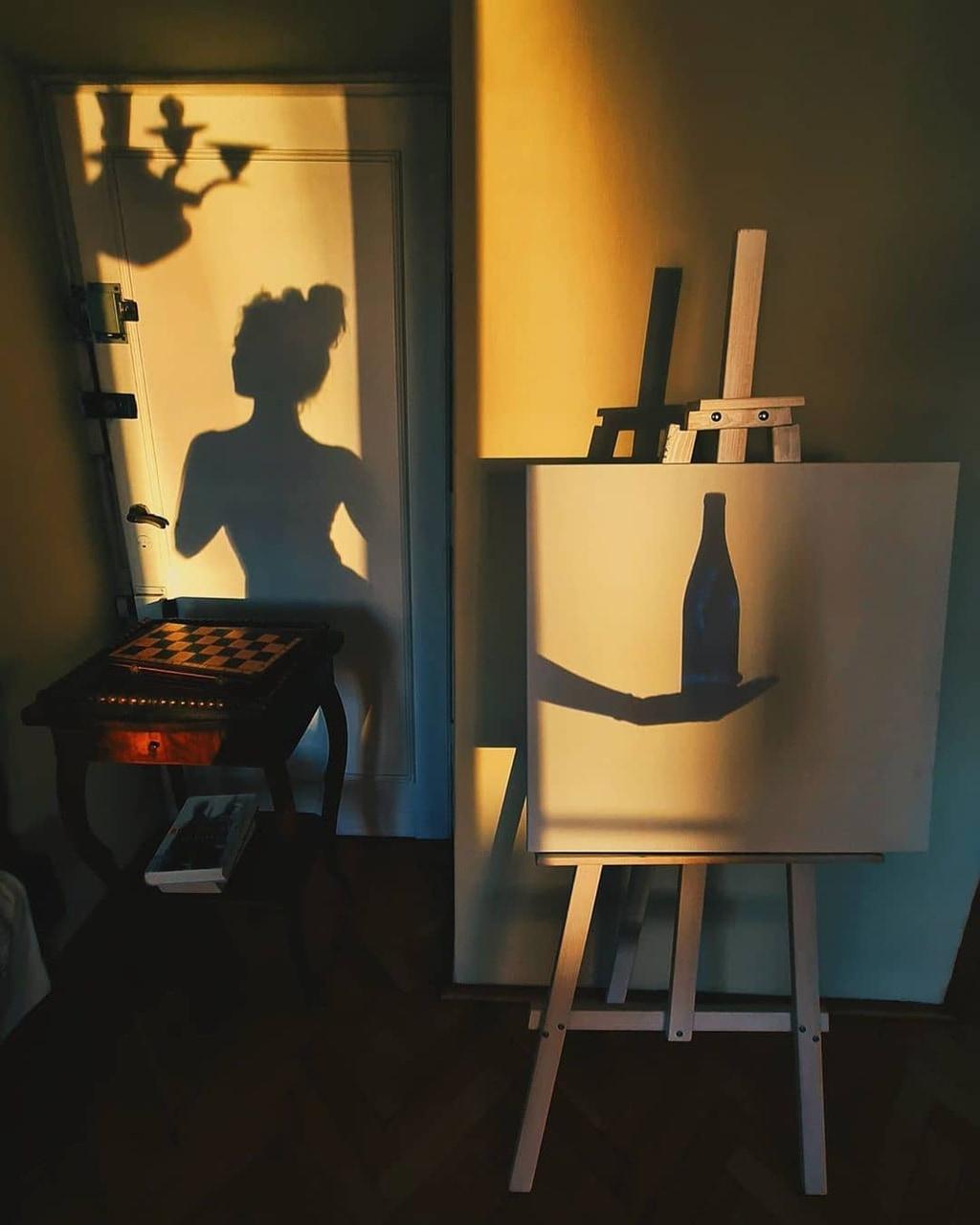 photography, girl, and light image
