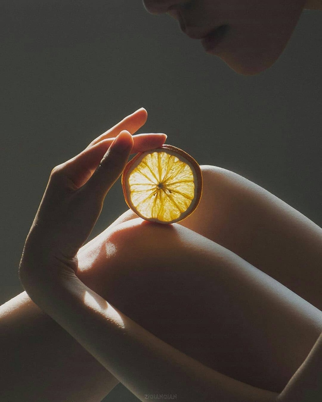 orange, photography, and @ziqianqian image