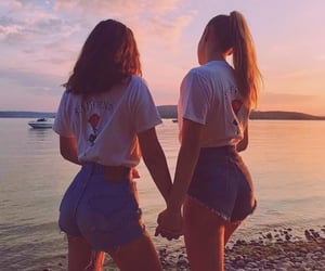 friends, friendship, and girl image