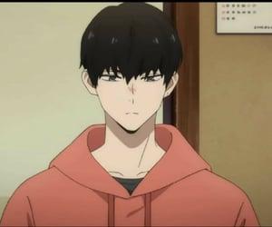 anime, black hair, and daisuke kanbe image