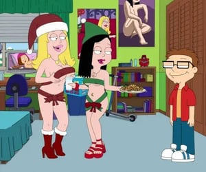 xmas, toons, and americandad image