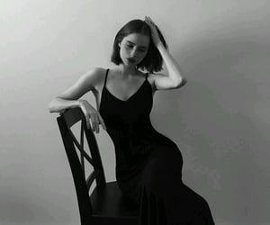 b, poses, and black image