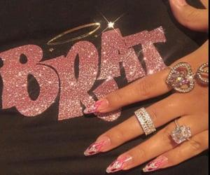pink, bratz, and nails image