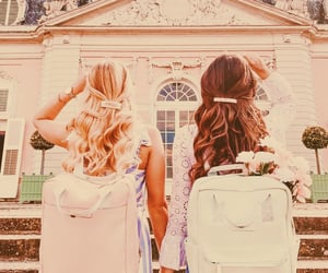 backpacking, europe, and friendship image