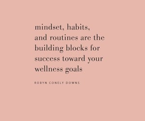 quotes, habits, and routine image