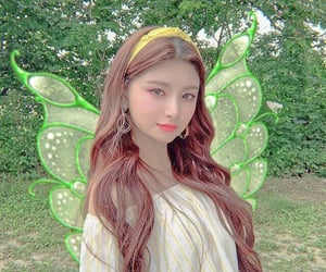 edit, fairy, and everglow image