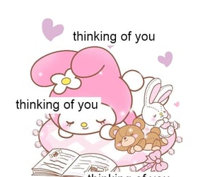 cute, sanrio, and love image