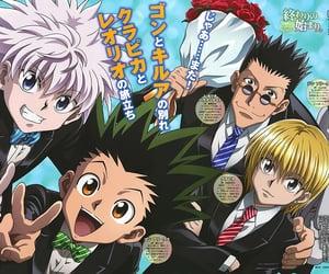 anime, gon freecss, and kurapika kurta image