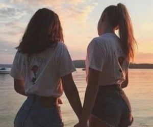 aesthetic, mejores amigas, and friends image