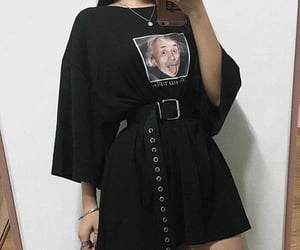 outfits, outfit ideas, and tshirt dress image