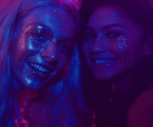 euphoria, zendaya, and hunter schafer image