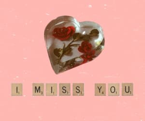 aesthetic, glass, and i miss you image