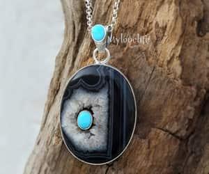 necklace, wedding gift, and gemstone pendant image
