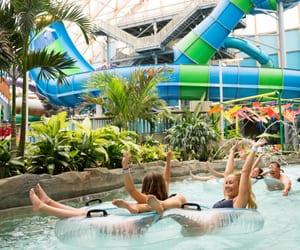 indoor water park and best indoor water parks image