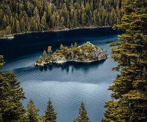 blue, lake, and photography image