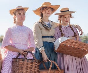 little women, Saoirse Ronan, and jo march image