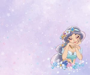 disney, jasmine, and princesse image