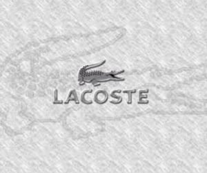 lacoste, marque, and Logo image