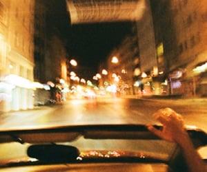 car, city, and night image