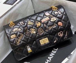 brands, chanel, and purse image