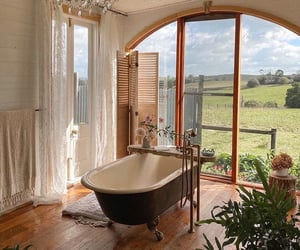 bath, home, and nature image