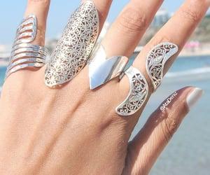 summer nails&rings image