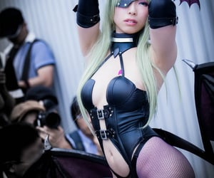 asian girls, cosplay, and fishnets image