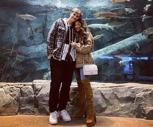 aquarium, couples, and fashion image